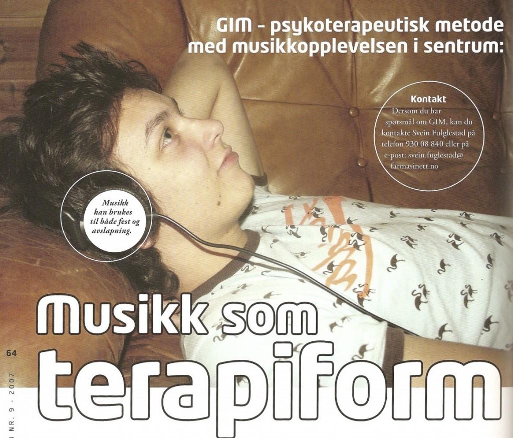 Intervju om GIM 2007 -forside