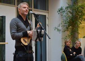 Bilde fra åpningen av Bevegelseslaboratoriet 10. mars 14  (foto Eva Tønnessen)
